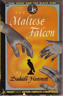 The Maltese Falcon book cover